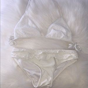 Other - White Lace Bikini